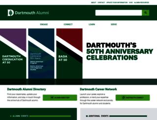 alum.dartmouth.org screenshot