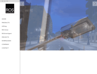 alumbrado-publico-ros.es screenshot