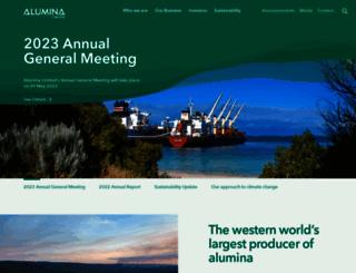 aluminalimited.com screenshot