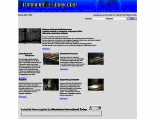 aluminiumnetwork.com screenshot