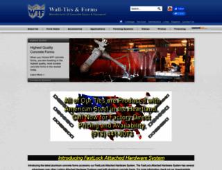 aluminumconcreteforms.com screenshot