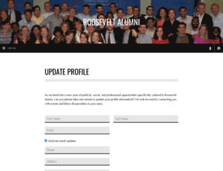 alumni-rooseveltcampusnetwork.nationbuilder.com screenshot