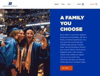alumni.boisestate.edu screenshot