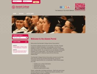 alumni.kendall.edu screenshot