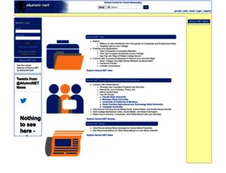 alumni.net screenshot