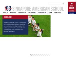 alumni.sas.edu.sg screenshot