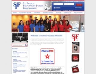 alumni.sfponline.org screenshot