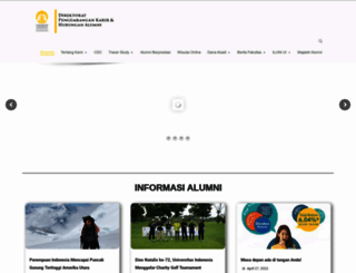 alumni.ui.ac.id screenshot