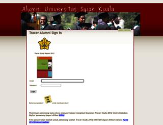 alumni.unsyiah.ac.id screenshot