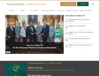 alumni.wm.edu screenshot