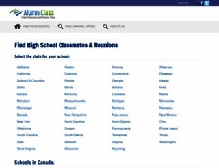 alumniclass.com screenshot