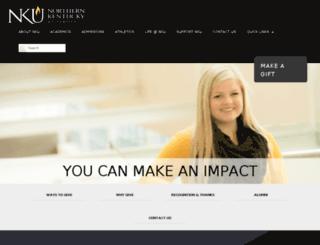 alumniconnect.nku.edu screenshot