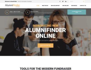 alumnifinder.com screenshot