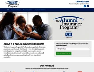 alumniinsuranceprogram.com screenshot