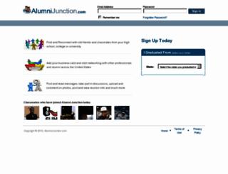 alumnijunction.com screenshot