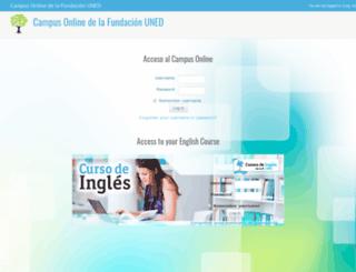 alumnos.cursocommunityfuned.com screenshot