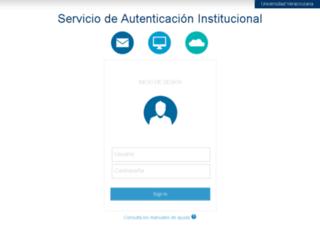 alumnos.uv.mx screenshot
