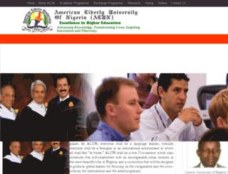 alun-ng.org screenshot