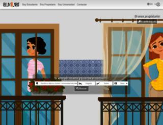 aluni.net screenshot