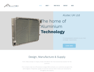 alutec.co.uk screenshot