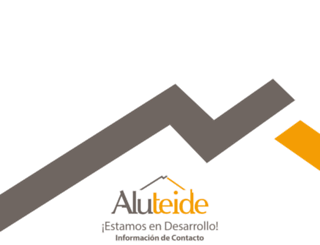 aluteide.es screenshot