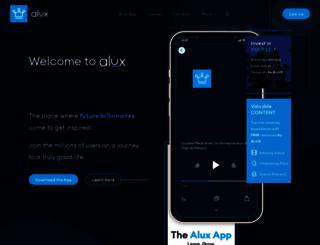 alux.com screenshot