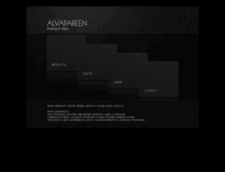 alvapareen.com screenshot