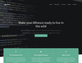 alvexcore.com screenshot