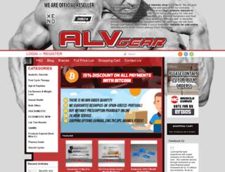 alvgear.com screenshot