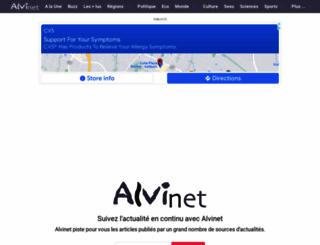 alvinet.com screenshot