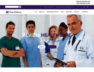 alviziahealthcare.com screenshot