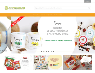 alvoradanatural.com.br screenshot
