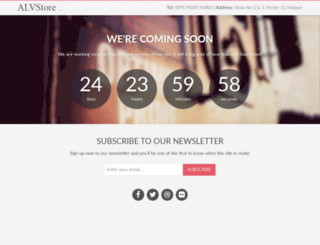 alvstore.in screenshot