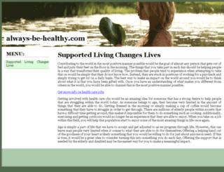 always-be-healthy.com screenshot