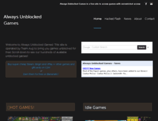 always-unblocked-games.weebly.com screenshot