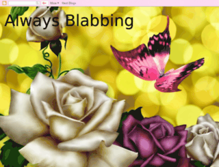 alwaysblabbing.blogspot.com screenshot