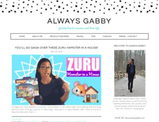 alwaysgabby.com screenshot
