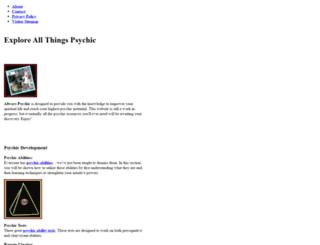 alwayspsychic.com screenshot