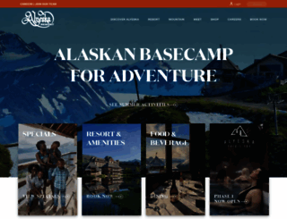 alyeskaresort.com screenshot