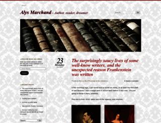 alysbcohen.wordpress.com screenshot