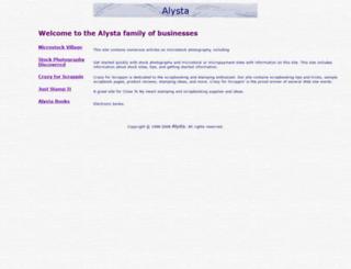 alysta.com screenshot