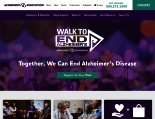 alz.org screenshot