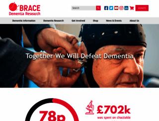 alzheimers-brace.org screenshot
