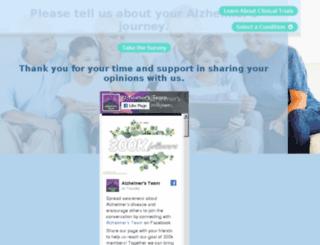 alzheimersstudies.com screenshot