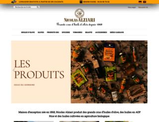 alziari.com.fr screenshot