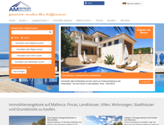 am-inmobiliaria.com screenshot
