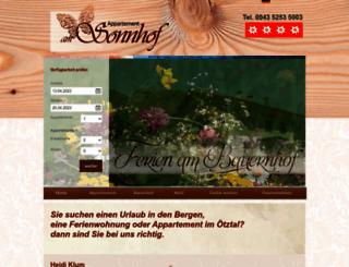 am-sonnhof.at screenshot