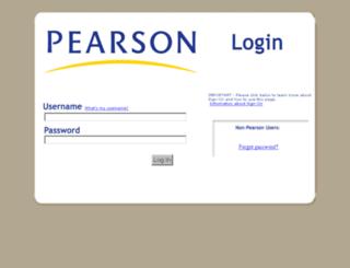 am.pearson.com screenshot
