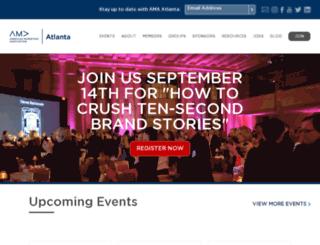 ama-atlanta.com screenshot