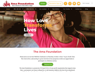 ama-foundation.org screenshot